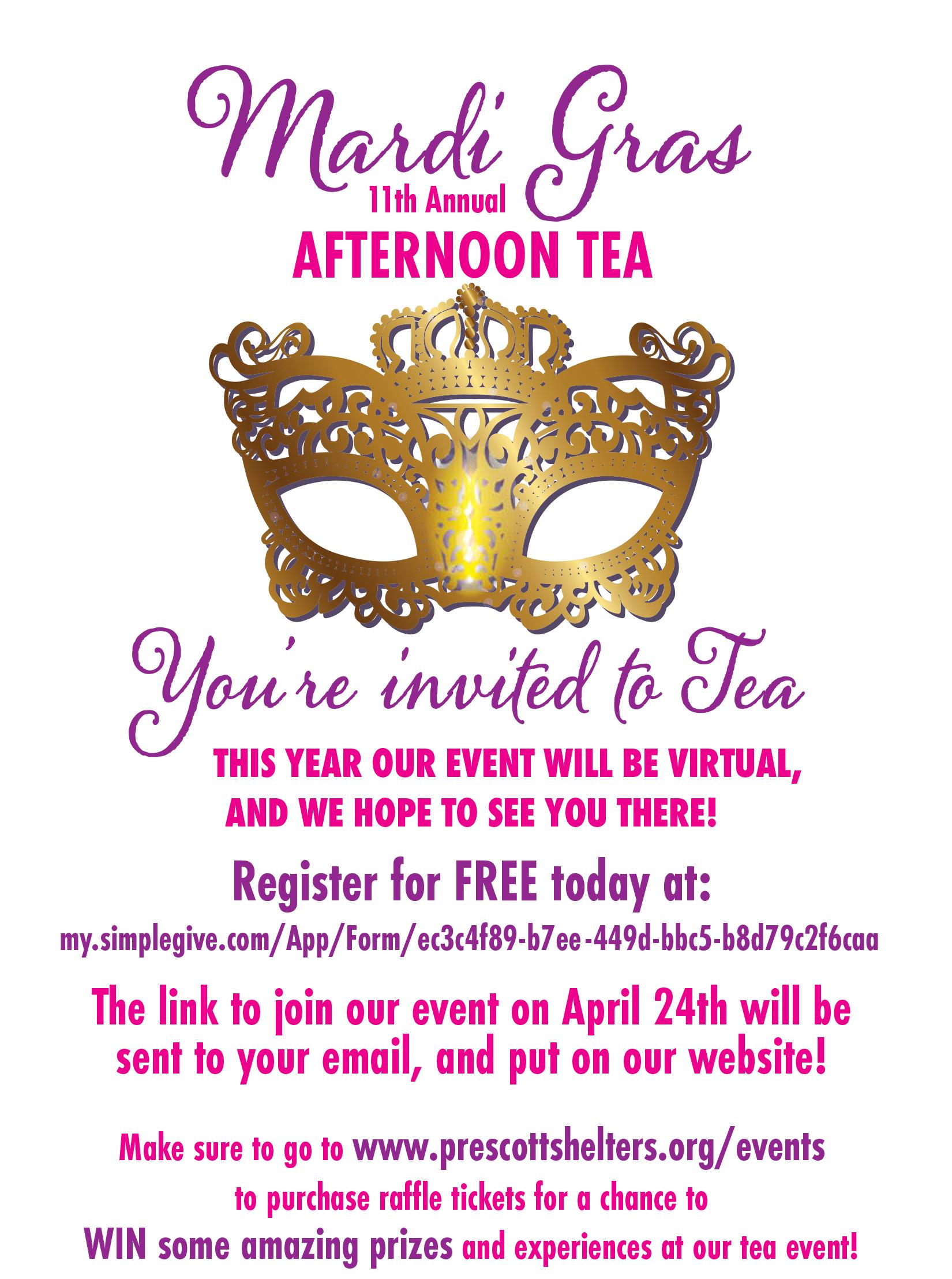 PASS Tea Invite_Virtual.indd